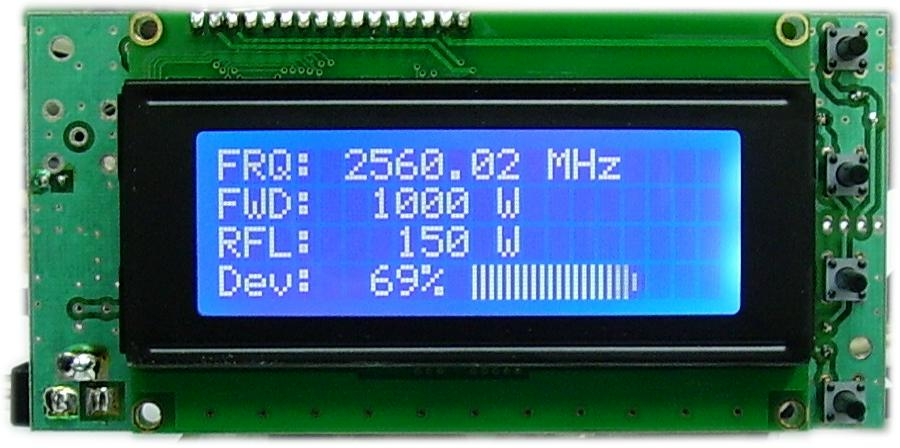 Directional Frequency Counter : Frequency counter khz ghz w if fwd ref meter